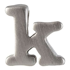 Picture of Silver 'K' Slider Charm